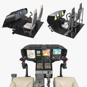 Cockpits Controls Collection 3d model