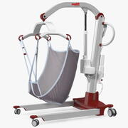 Molift Mover 205 Patient Lift with EvoSling Rigged 3d model