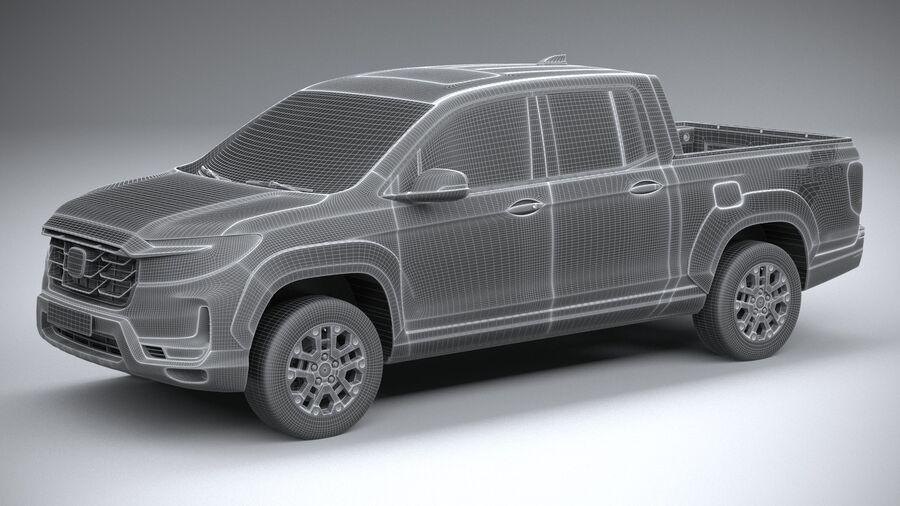 Honda Ridgeline 2021 royalty-free 3d model - Preview no. 27