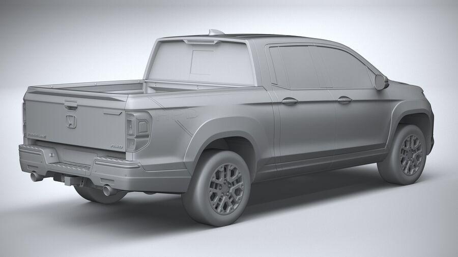 Honda Ridgeline 2021 royalty-free 3d model - Preview no. 26