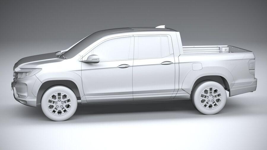 Honda Ridgeline 2021 royalty-free 3d model - Preview no. 23