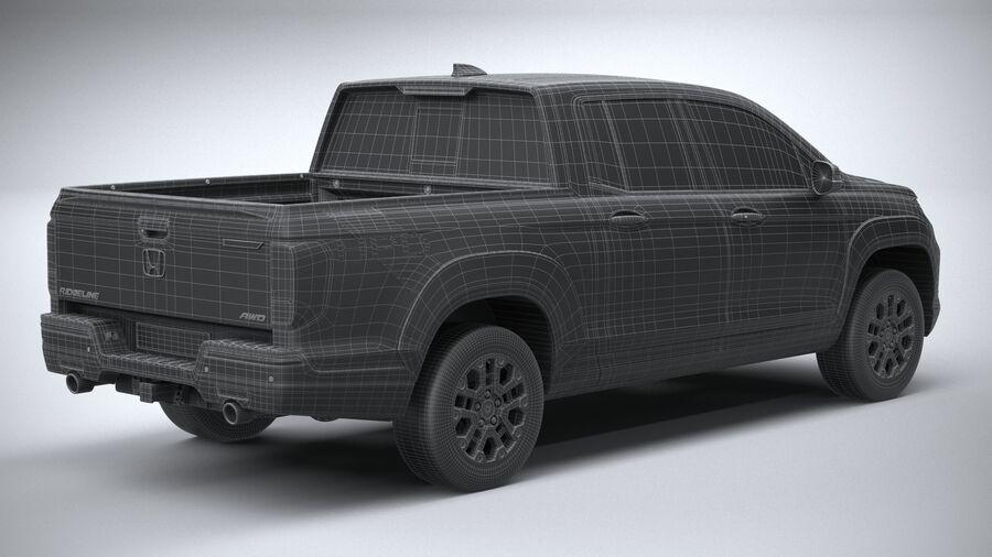 Honda Ridgeline 2021 royalty-free 3d model - Preview no. 30