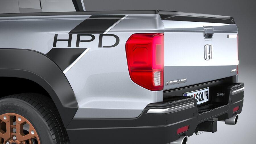 Honda Ridgeline 2021 royalty-free 3d model - Preview no. 7