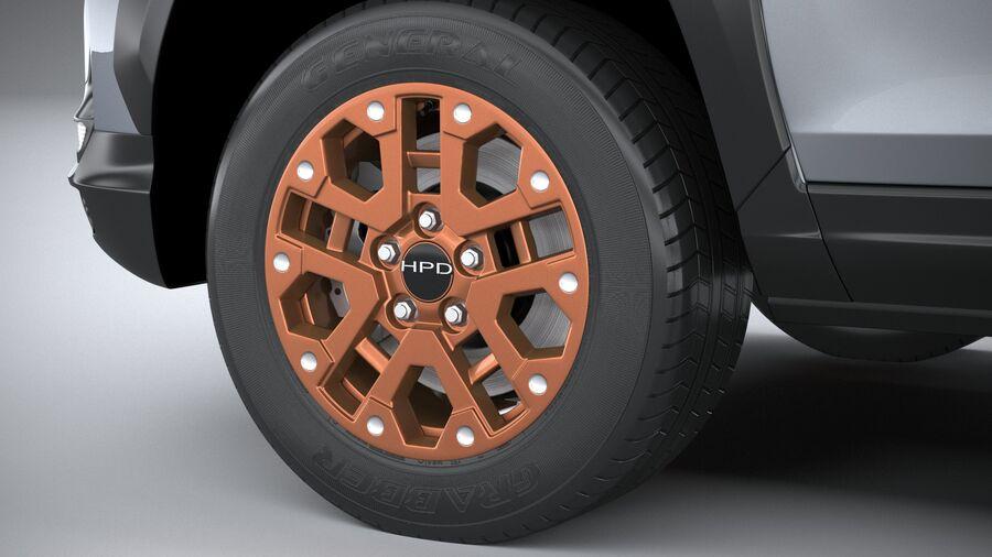 Honda Ridgeline 2021 royalty-free 3d model - Preview no. 17