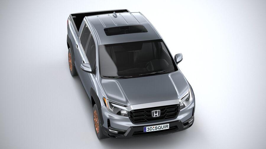 Honda Ridgeline 2021 royalty-free 3d model - Preview no. 13