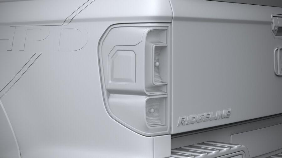 Honda Ridgeline 2021 royalty-free 3d model - Preview no. 25