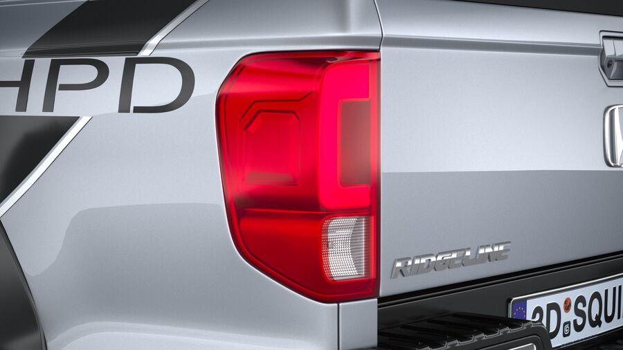 Honda Ridgeline 2021 royalty-free 3d model - Preview no. 16