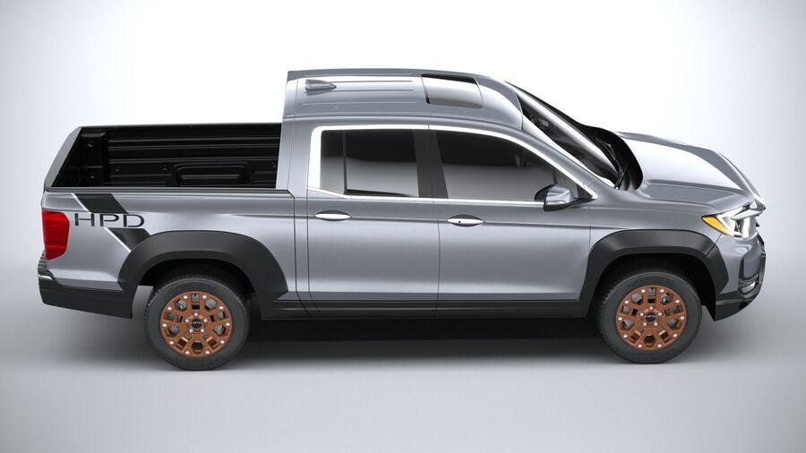 Honda Ridgeline 2021 royalty-free 3d model - Preview no. 12