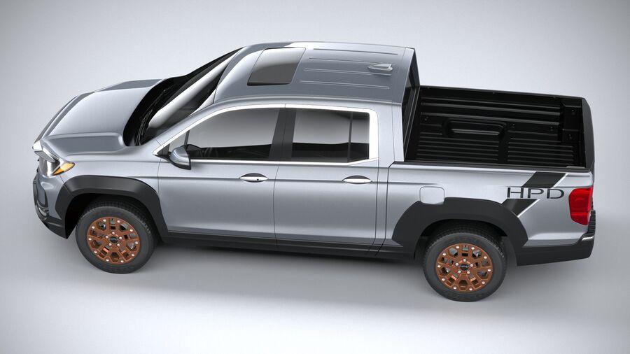 Honda Ridgeline 2021 royalty-free 3d model - Preview no. 10