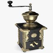 Antique Manual Coffee Grinder 3d model