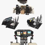 조종석 컨트롤 컬렉션 2 3d model