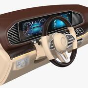 Luxury Car Dashboard 3d model