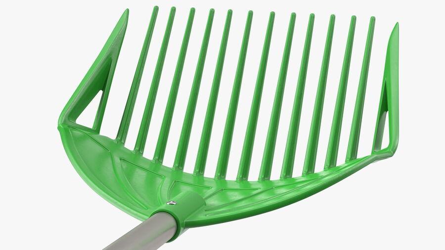Multipurpose Combined Rake Shovel Sieve royalty-free 3d model - Preview no. 10