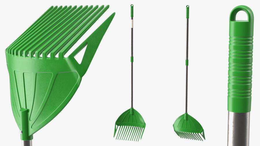 Multipurpose Combined Rake Shovel Sieve royalty-free 3d model - Preview no. 7