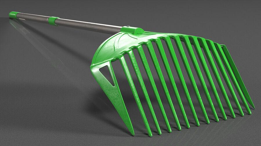 Multipurpose Combined Rake Shovel Sieve royalty-free 3d model - Preview no. 6