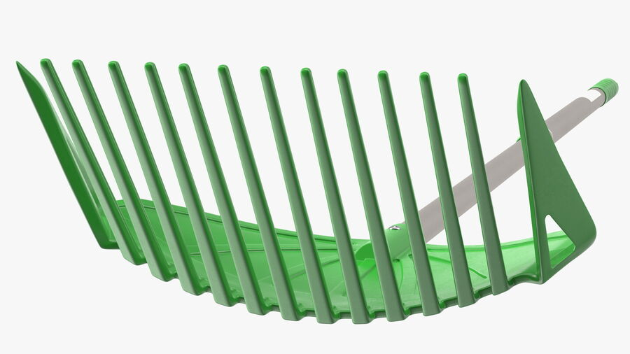 Multipurpose Combined Rake Shovel Sieve royalty-free 3d model - Preview no. 11