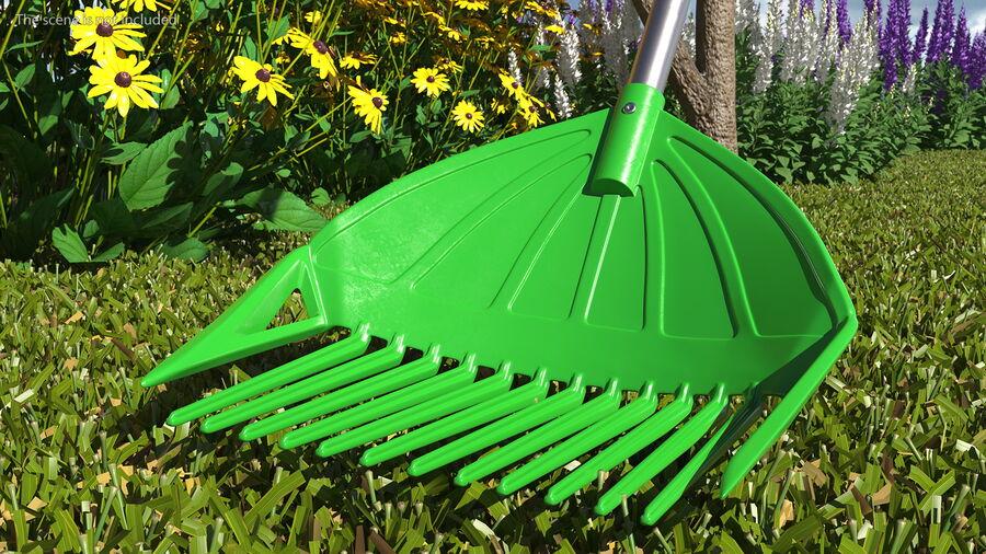 Multipurpose Combined Rake Shovel Sieve royalty-free 3d model - Preview no. 5