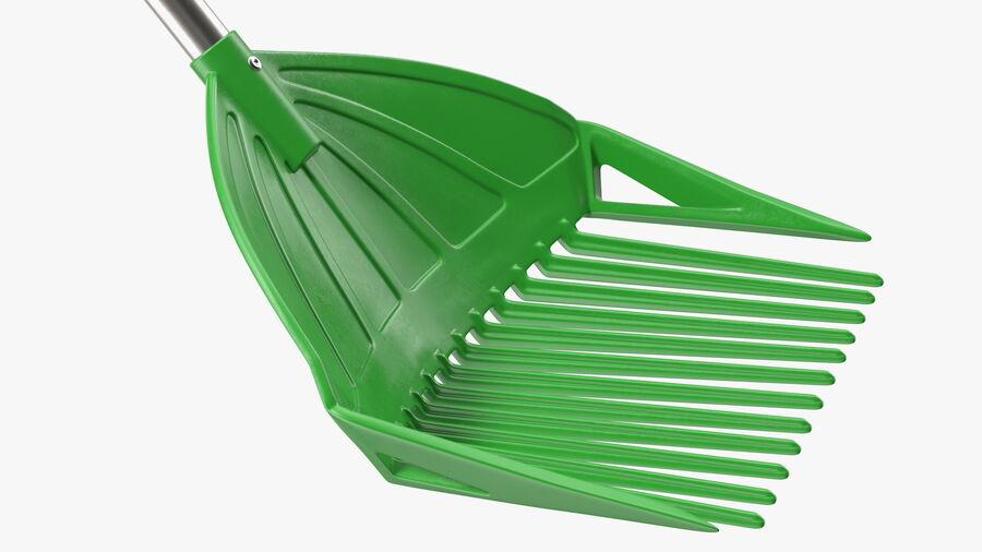 Multipurpose Combined Rake Shovel Sieve royalty-free 3d model - Preview no. 12
