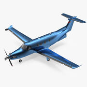 Turboprop Business Aircraft 3d model