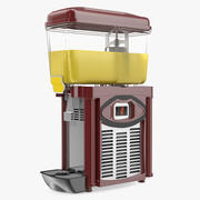 Distributore di succo di frutta 3d model