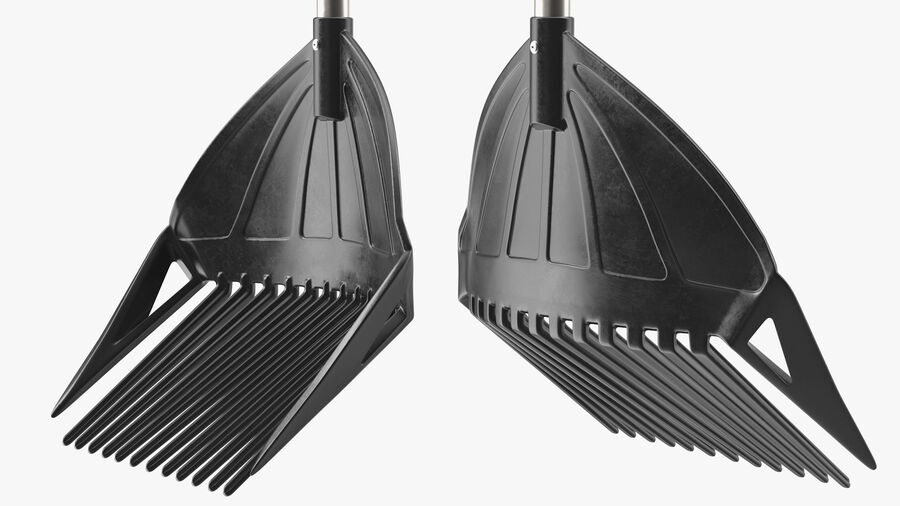 MLTOOLS Combined Rake Shovel and Sieve royalty-free 3d model - Preview no. 12