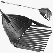 MLTOOLS Combined Rake Shovel and Sieve 3d model