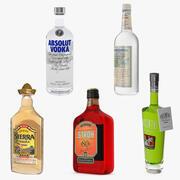 アルコール飲料コレクション3 3d model