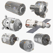 ISS Modules Collection 5 3d model