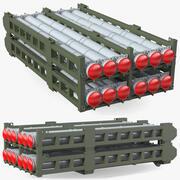 Wyrzutnia rakiet 50R6 3d model
