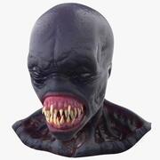 Scary Creature Head 3d model