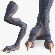 Monster Creature Leg 3d model