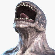 Monster Creature Rigged 3d model
