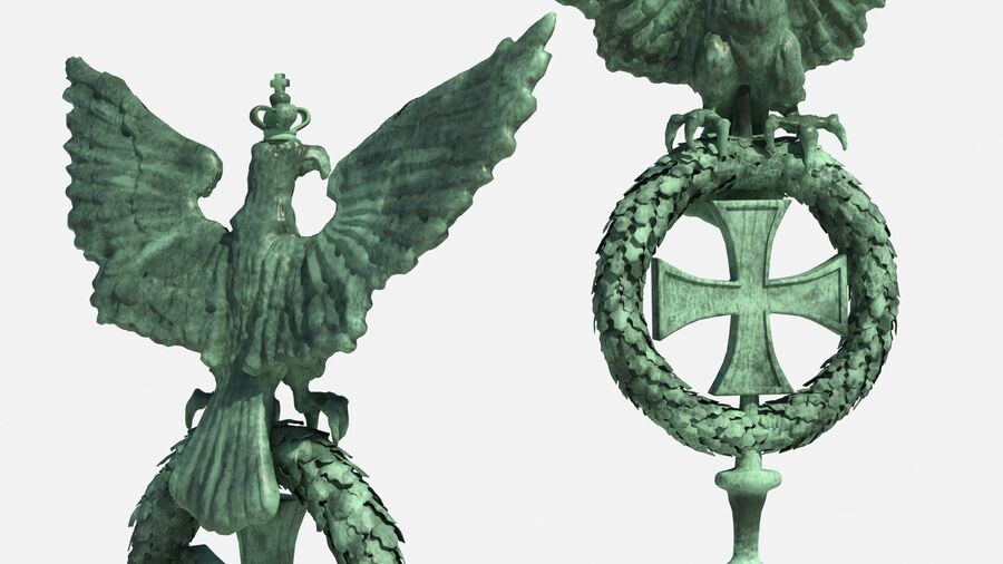 Architectural Elements Collection royalty-free 3d model - Preview no. 7