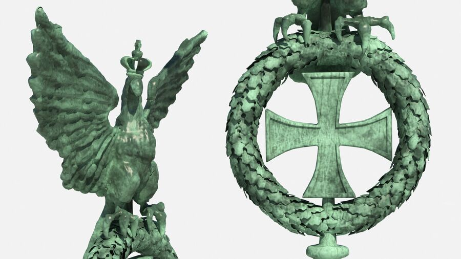 Architectural Elements Collection royalty-free 3d model - Preview no. 8