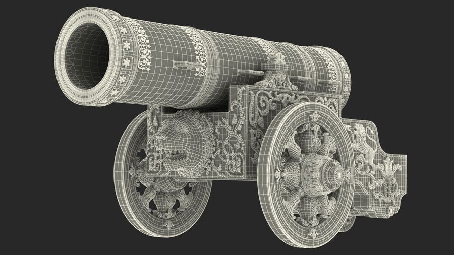 Architectural Elements Collection royalty-free 3d model - Preview no. 38