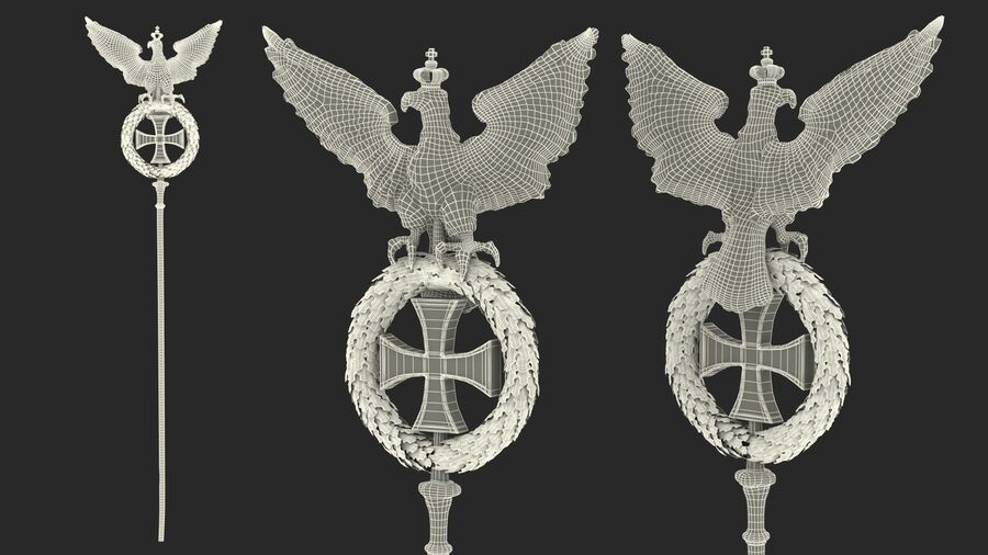 Architectural Elements Collection royalty-free 3d model - Preview no. 36