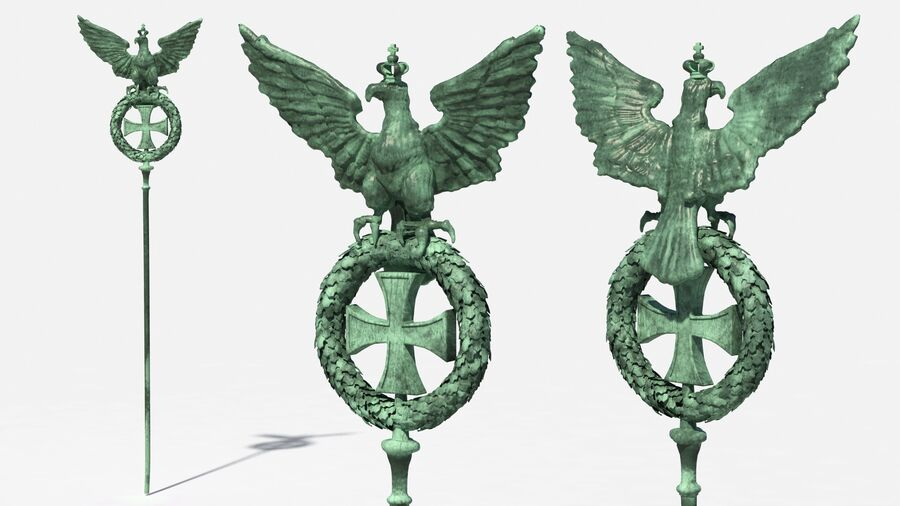 Architectural Elements Collection royalty-free 3d model - Preview no. 5