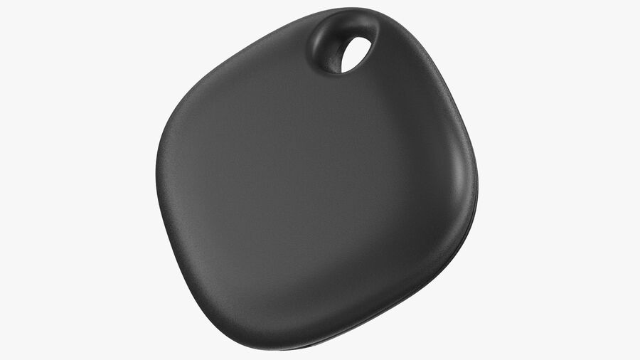 Bluetooth Tracker Black royalty-free 3d model - Preview no. 2