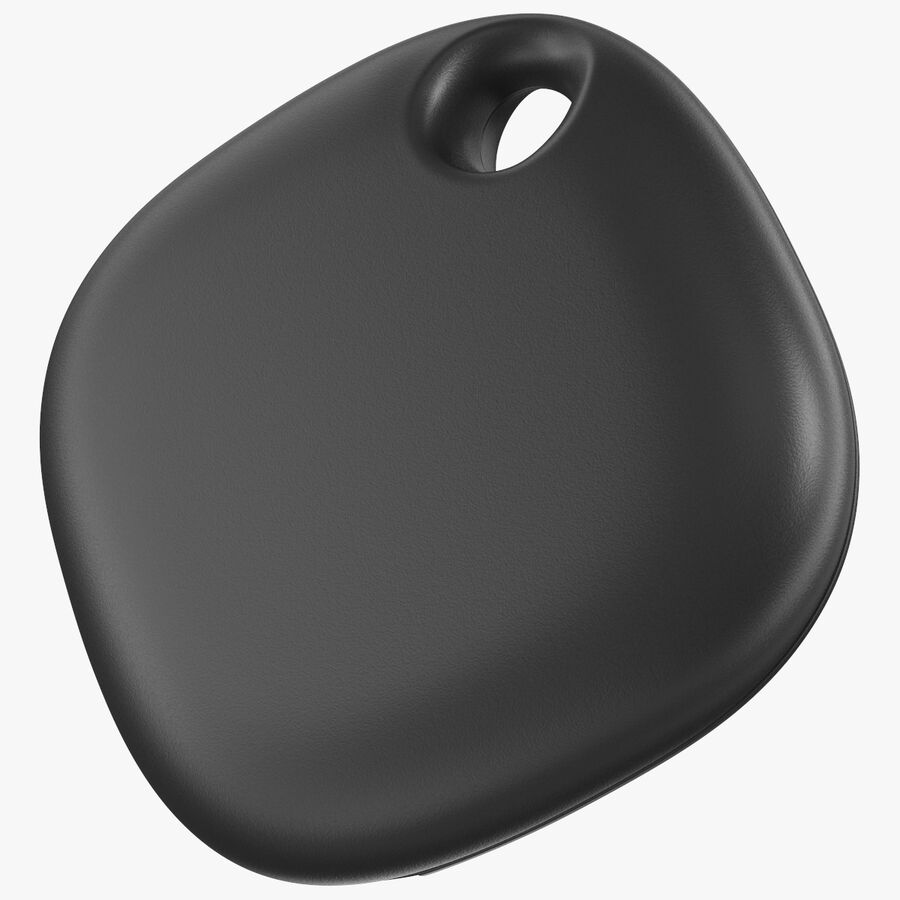 Bluetooth Tracker Black royalty-free 3d model - Preview no. 1