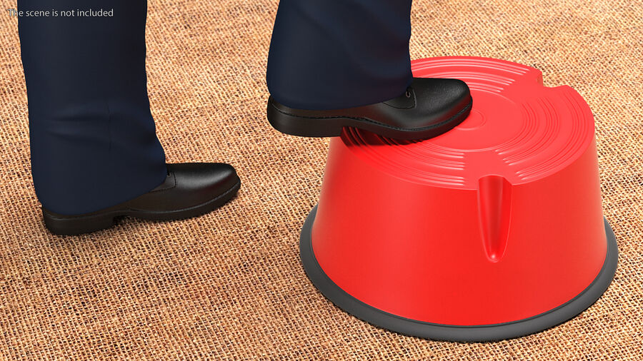 Kick Stool royalty-free 3d model - Preview no. 4