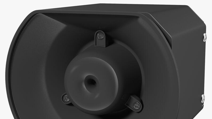 Emergency Vehicle Siren Speaker royalty-free 3d model - Preview no. 11