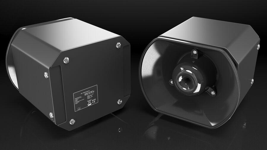 Emergency Vehicle Siren Speaker royalty-free 3d model - Preview no. 6