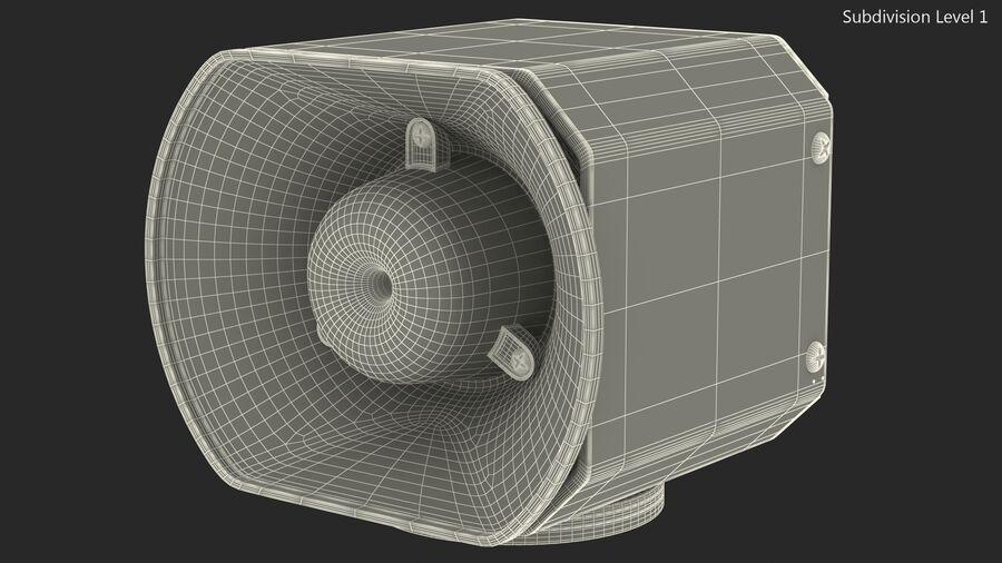 Emergency Vehicle Siren Speaker royalty-free 3d model - Preview no. 15
