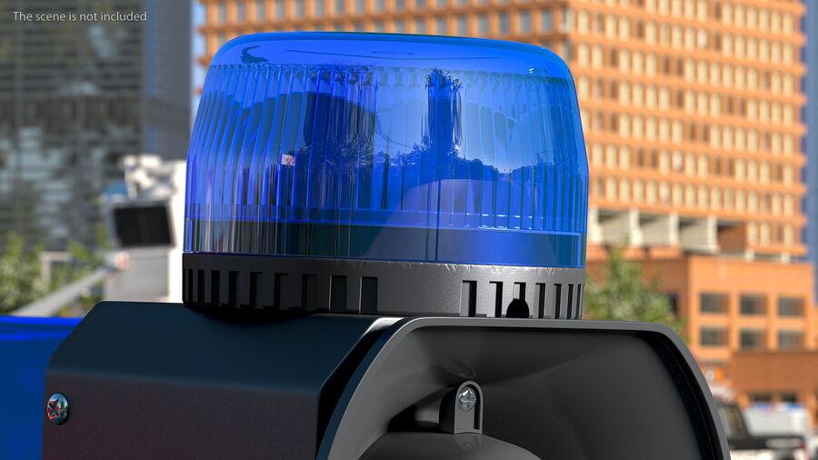 Emergency Vehicle Siren Speaker royalty-free 3d model - Preview no. 5