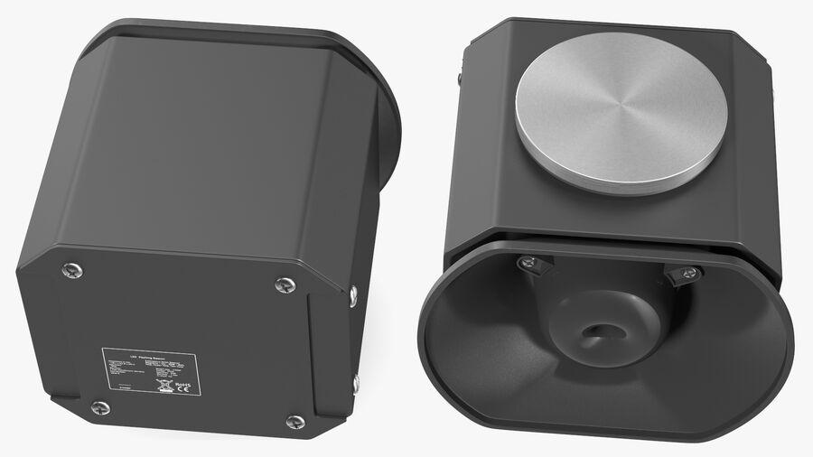 Emergency Vehicle Siren Speaker royalty-free 3d model - Preview no. 10