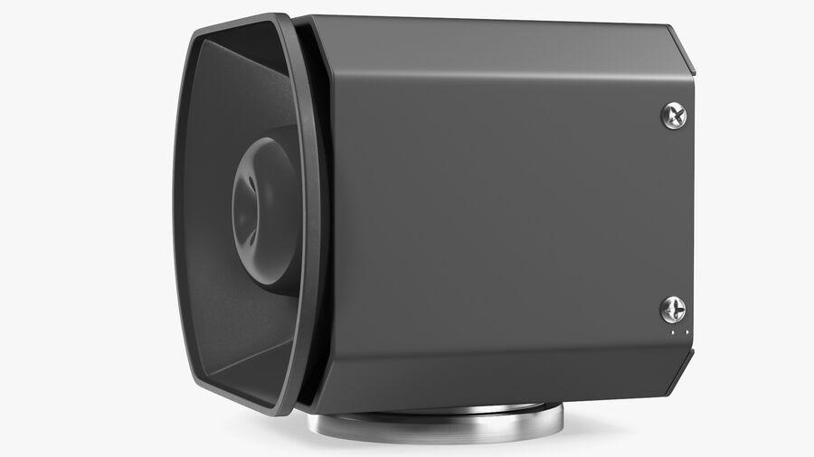 Emergency Vehicle Siren Speaker royalty-free 3d model - Preview no. 8