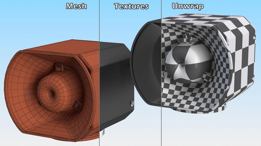 Emergency Vehicle Siren Speaker royalty-free 3d model - Preview no. 13