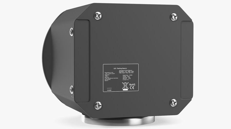 Emergency Vehicle Siren Speaker royalty-free 3d model - Preview no. 9