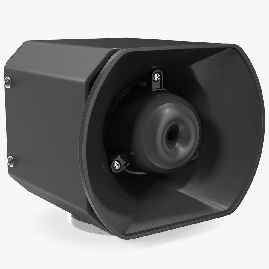 Emergency Vehicle Siren Speaker royalty-free 3d model - Preview no. 1
