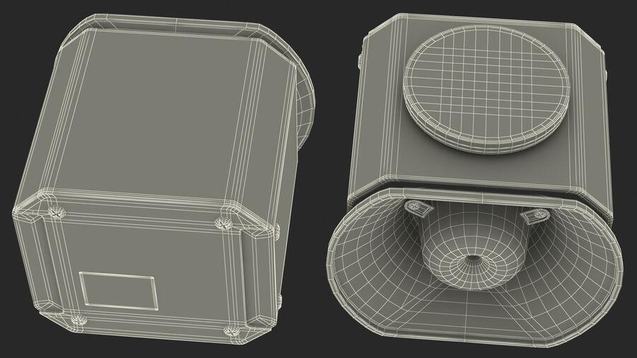 Emergency Vehicle Siren Speaker royalty-free 3d model - Preview no. 25